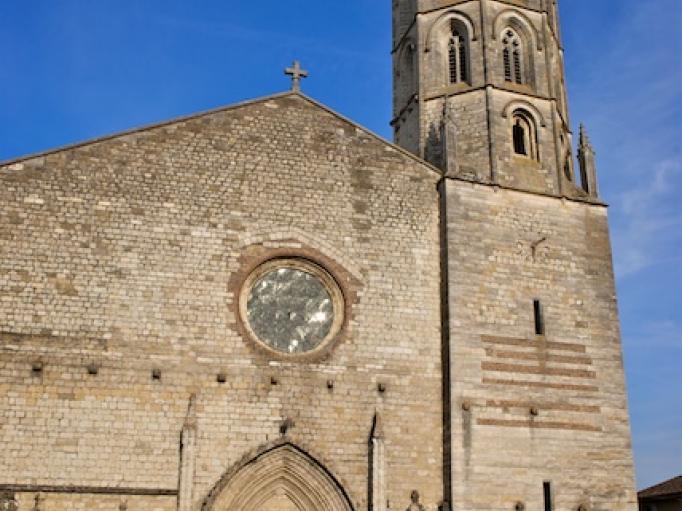 Façade de l'Eglise Notre Dame