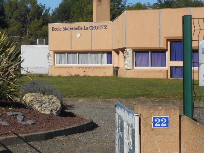 entrée école Lacroutz