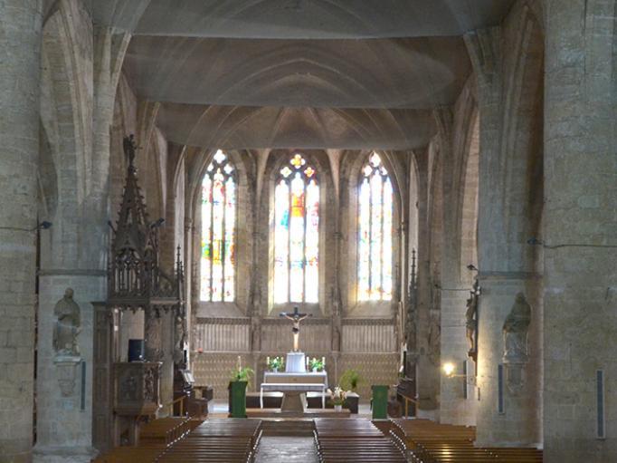 Une église majestueuse