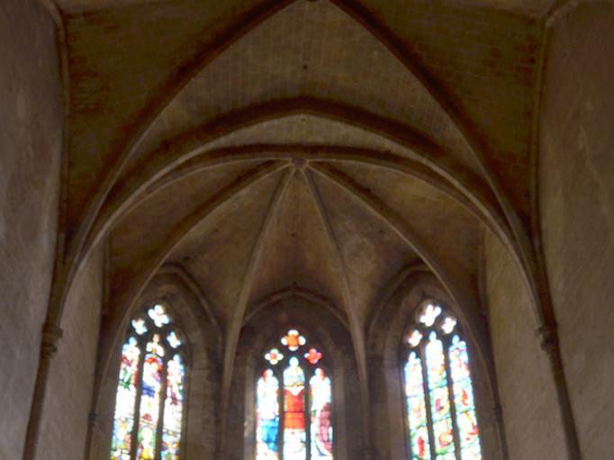 Vitraux de la sacristie